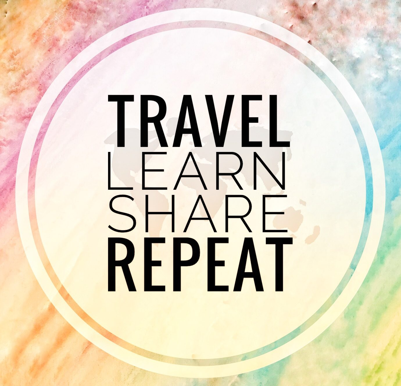 Logo of Travel, Learn, Share, Repeat