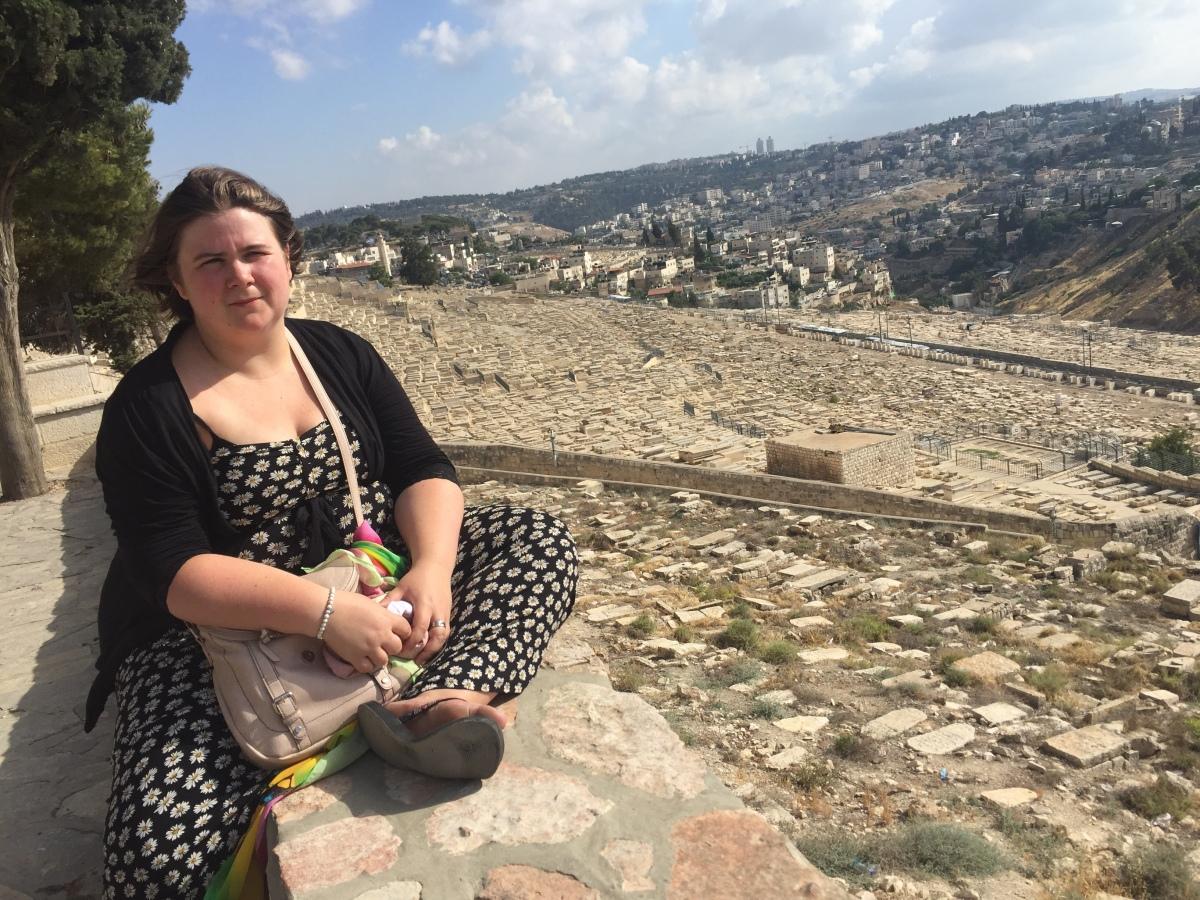 Me sitting over Jerusalem